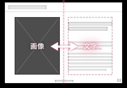 画像とテキストが対比されたスライド(解説)