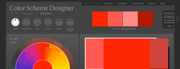 color schema designer