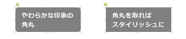 角丸のサンプル