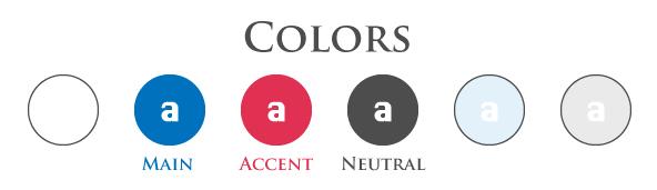 塗りに使うテーマカラー