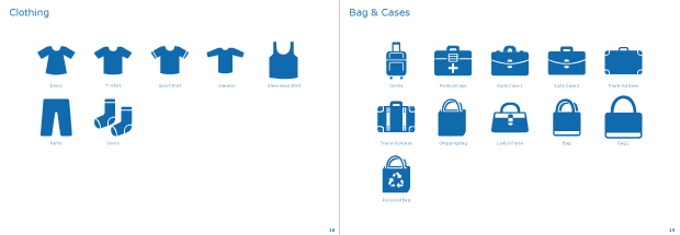 Clothing #2 & Bag & Cases